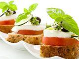 Fotolia nuotr./Mocarela su pomidorais