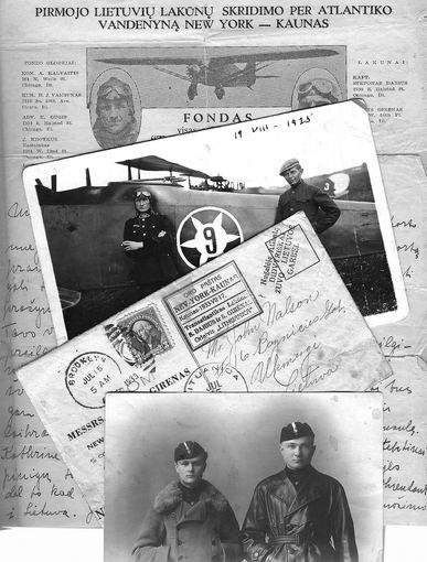 Vytauto Didžiojo karo muziejaus parodų nuotr./Legendinių lakūnų S.Dariaus ir S.Girėno žūties diena tapo  viso pasaulio lietuvių vienybės minėjimo data.