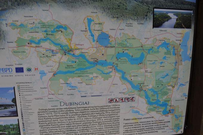 M. Vadiaio nuotr./asvejos ežero žemėlapis