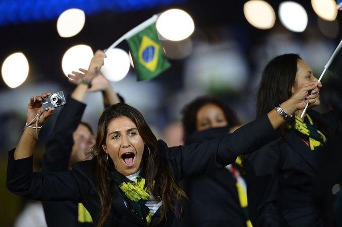Scanpix nuotr./Brazilijos delegacija