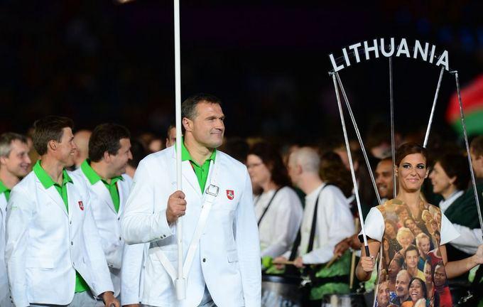 AFP/Scanpix nuotr./Lietuvos delegacija