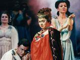 """Asmeninio archyvo nuotr./Normos vaidmuo Vincenzo Bellinio operoje """"Norma""""."""