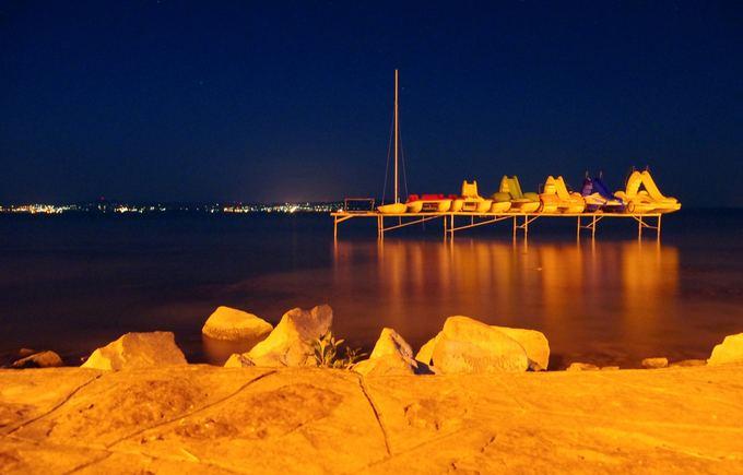 Linos Pankratjevaitės nuotr./Ežeras naktį