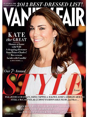 """Žurnalo """"Vanity Fair"""" viršelis/Kembridžo hercogienė Catherine"""