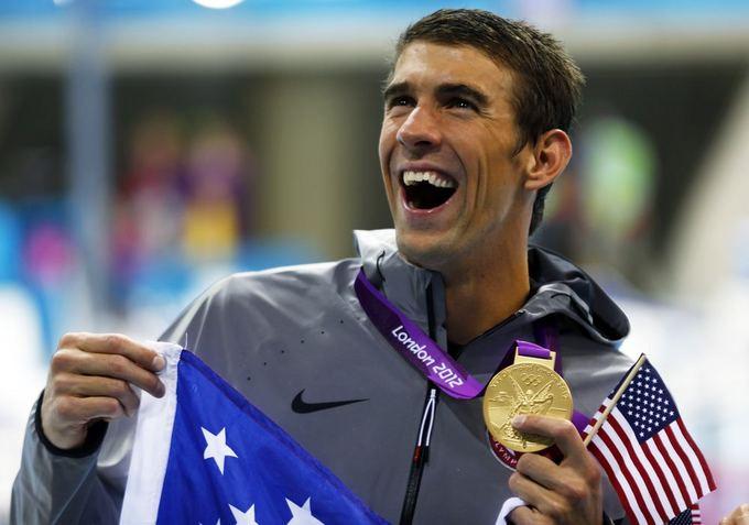 Reuters/Scanpix nuotr./Michaelas Phelpsas
