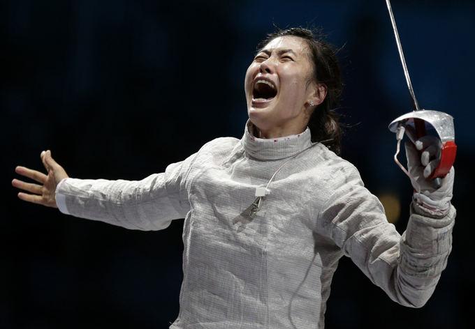 Reuters/Scanpix nuotr./Olimpinė čempionė Jiyeon Kim