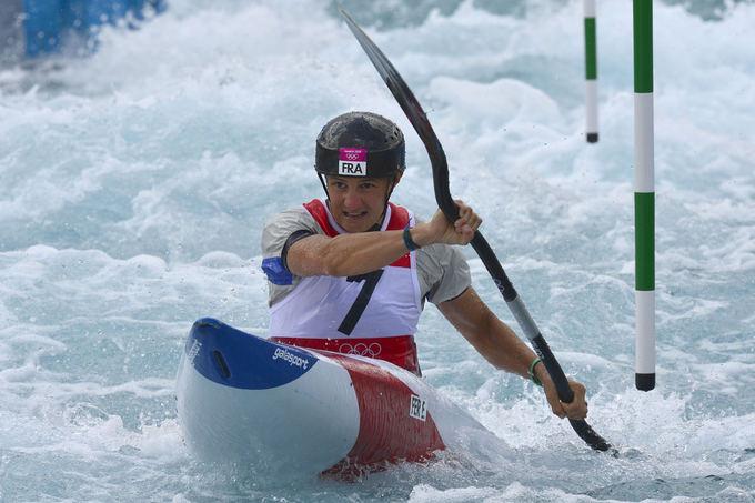 AFP/Scanpix nuotr./Olimpinė čempionė Emilie Fer