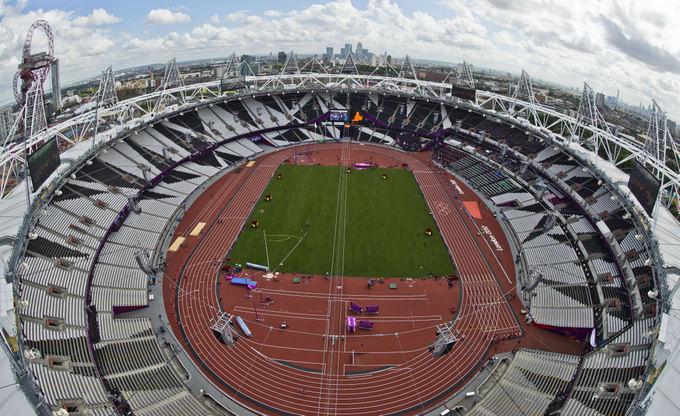 AFP/Scanpix nuotr./Olimpinis lengvosios atletikos stadionas Londone
