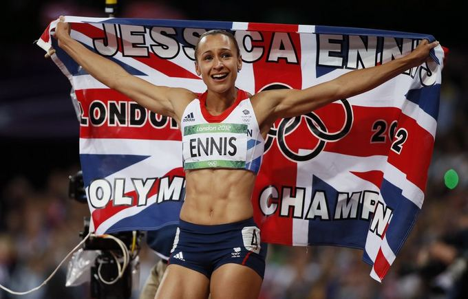 Reuters/Scanpix nuotr./Olimpinė septynkovės čempionė Jessica Ennis