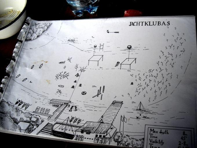 D. Kavaliauskaitės nuotr./Žemėlapis