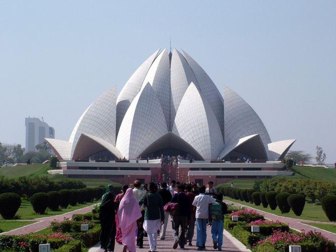Novaturo nuotr./Bahai aventykla Naujajame Delyje