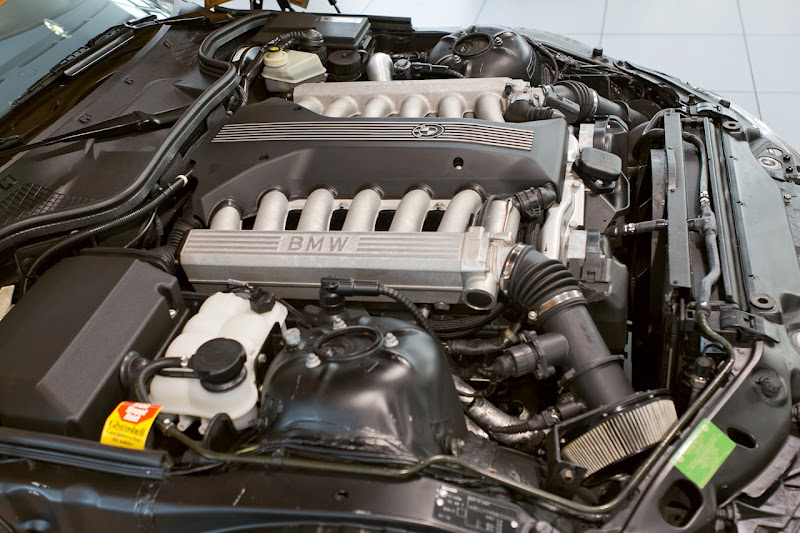 BMW Z3 prototipas su V12 varikliu