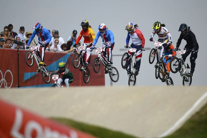 AFP/Scanpix nuotr./Vilma Rimaaitė (nr. 222) olimpinėse žaidynėse