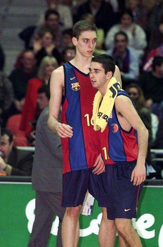 Pau Gasolis ir Juanas Carlosas Navarro