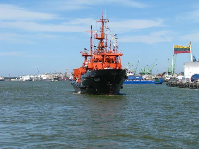 KJP nuotr./Pagalbos ir gelbėjimo laivas `akiai