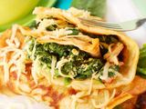 Shutterstock nuotr. / Blyneliai su daržovėmis