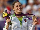 """""""Scanpix"""" nuotr./Laura Asadauskaitė iš Lietuvos laimėjo aukso medalį šiuolaikinės penkiakovės rungtyje"""
