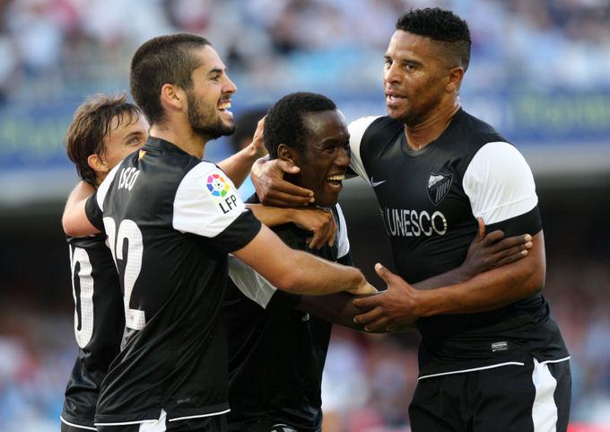 AFP/Scanpix nuotr./Malaga Ispanijos čempionate pernai buvo ketvirta
