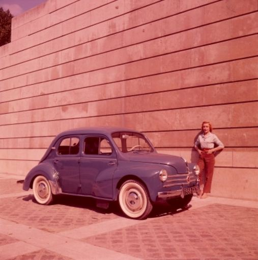 Gamintojo nuotr./Renault 4 CV Sport, 1958 m.