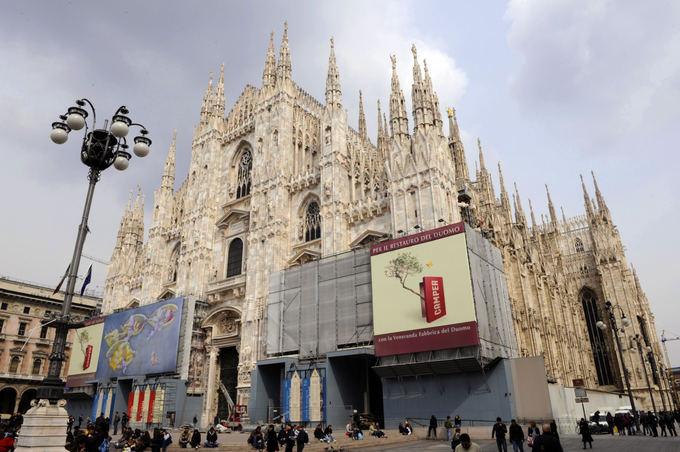 AFP/Scanpix nuotr./Duomo katedra Milane