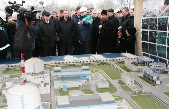 Kaliningrado atominės jėgainės maketas