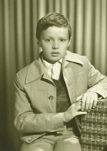 Asmeninio archyvo nuotr./Andrius Užkalnis mokyklos laikais