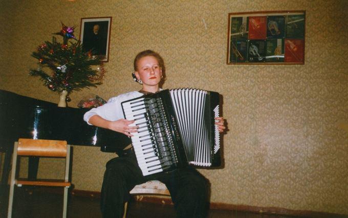 Asmeninio albumo / Žmonės.lt nuotr./Vilniaus muzikos koncervatorijoje
