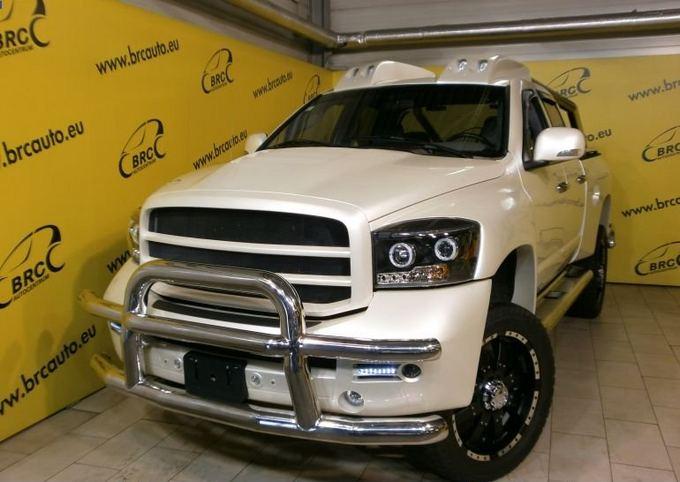 Autoplius.lt nuotr./Autoplius.lt portale parduodamas tiuninguotas automobilis. Dodge Ram