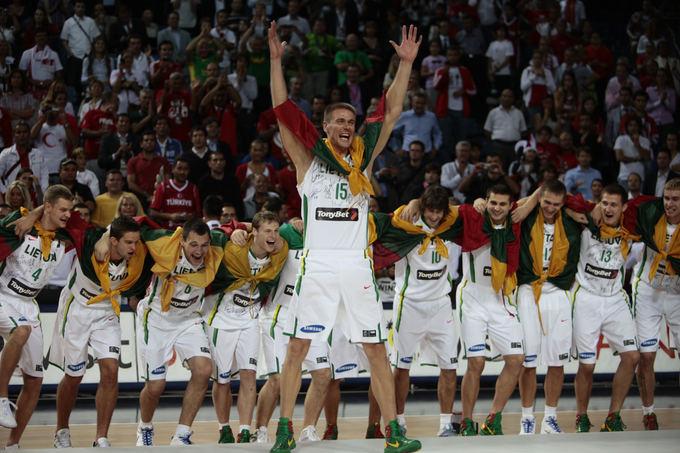 Lietuvos krepaininkų triumfas iakovojus bronzą 2010 metų pasaulio čempionate
