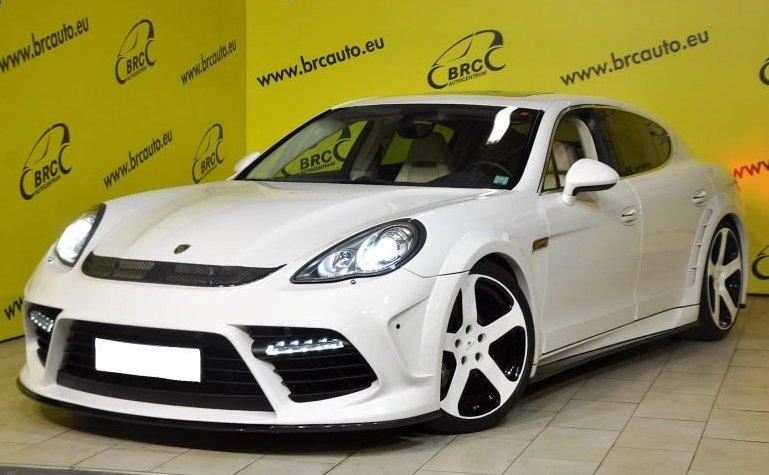 "Autoplius.lt portale parduodamas tiuninguotas automobilis. ""Porsche Panamera"""