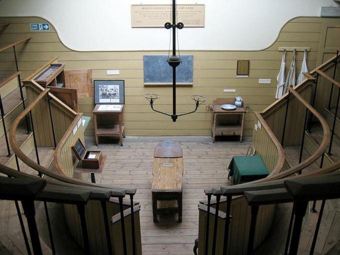 wikipedia.org nuotr./Senojoje operacinėje visi galėjo stebėti procesą kaip teatre