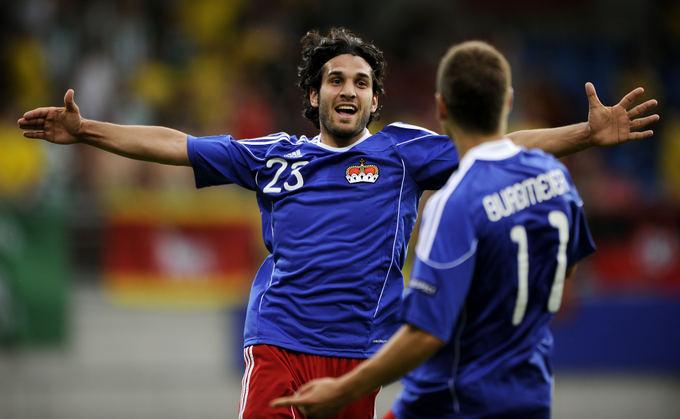 AFP/Scanpix nuotr./Lichtenateino futbolo rinktinė