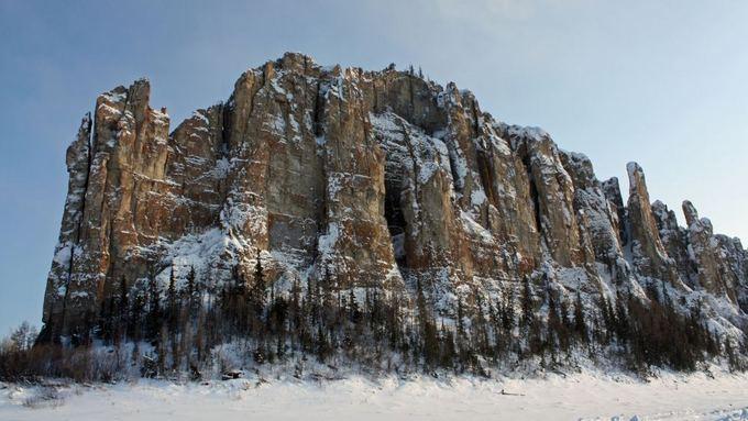 Fotolia nuotr./Lenos stulpų nacionalinis gamtos parkas Rusijoje