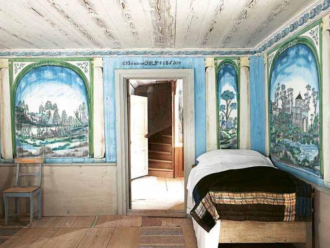 unesco.org nuotr./Vietinių namų dekoravimas Halsinglande (`vedija)