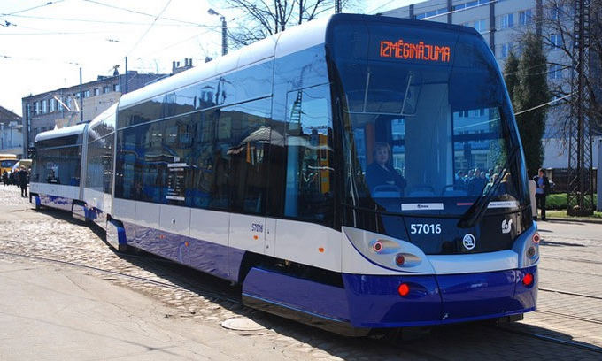 15min.lt/TVNET/DzD/Общественный транспорт в Риге.