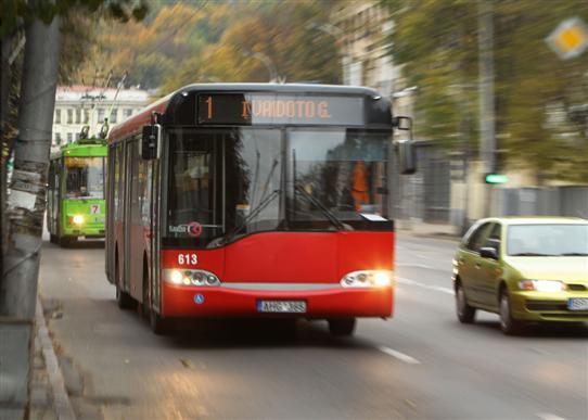 15min.lt/TVNET/DzD/Общественный транспорт в Вильнюсе.