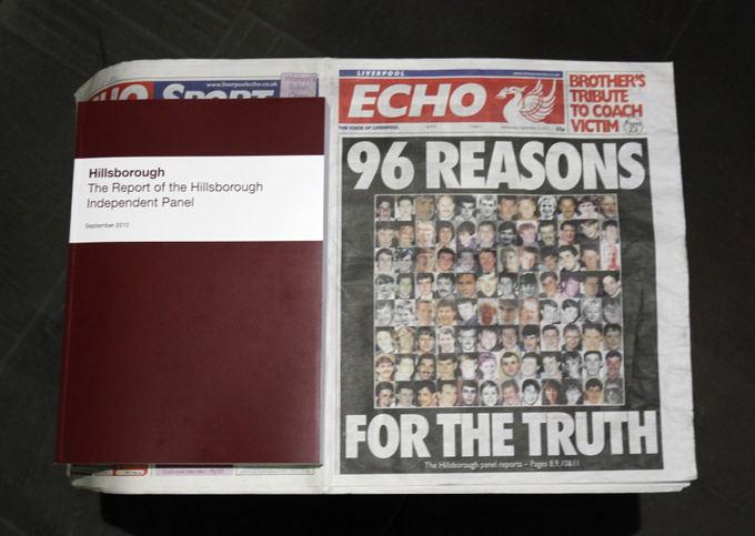 Reuters/Scanpix nuotr./Hillsborough tragedijos dokumentai