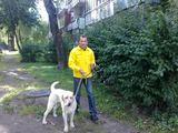 R.Pekarskienės nuotr./R.Vekerotas mėgsta ne tik pasivaikščioti, bet ir pabėgioti su ištikimu kompanionu Bartu.