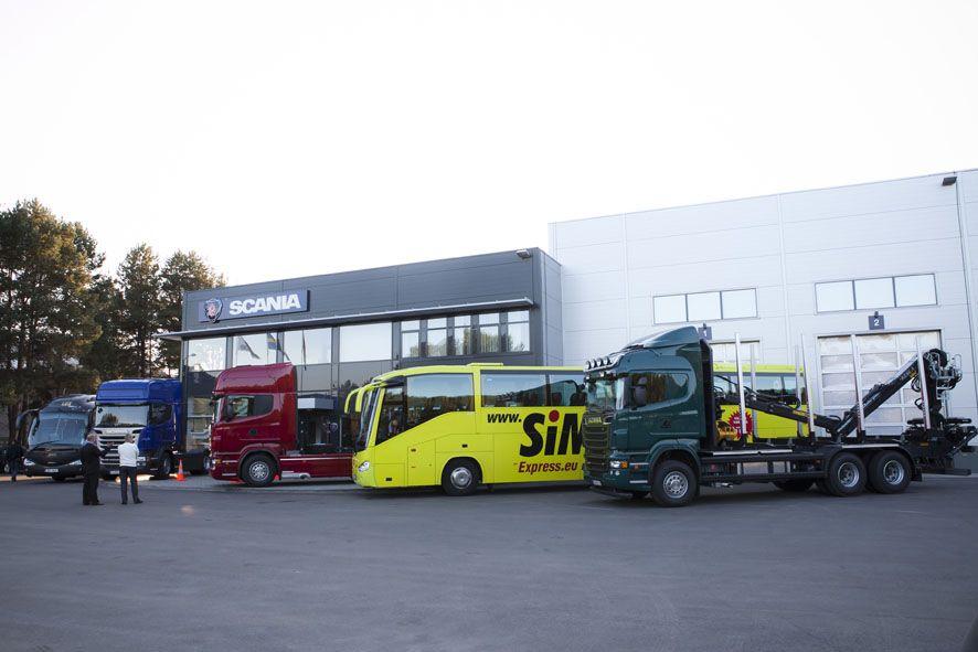 """Naujasis """"Scania"""" centras"""