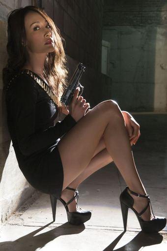 "LNK nuotr./Maggie Q seriale ""Nikita"""