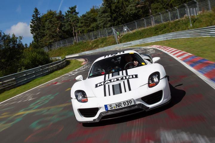 """""""Porsche 918"""" Niurburgringe"""