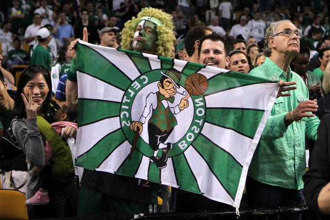Reuters/Scanpix nuotr./Bostono Celtics gerbėjas