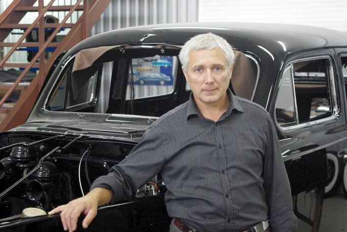 Tomo Digaičio/GAZAS.LT nuotr./Arvydas `apoka, S.Karoso automobilių restauravimo dirbtuvių vadovas