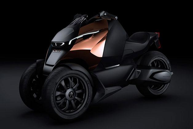 Peugeot Onyx triratis motociklas