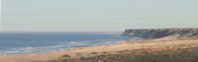 Evelinos ir Karolio nuotr./Nullarbor plynė  didelė ilga dykuma