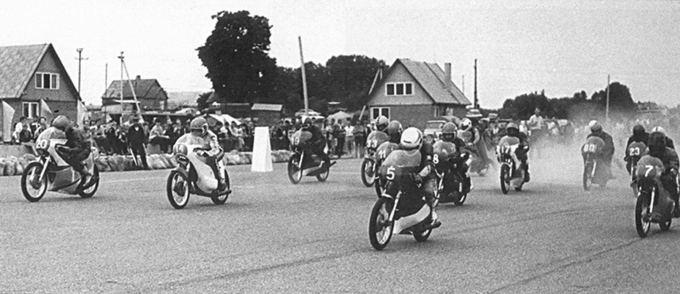 Organizatorių nuotr./Socialistinių motociklų lenktynių čempionato etapo varžybos