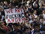 """""""Reuters""""/""""Scanpix"""" nuotr./Protestas prieš kalinių kankinimą Gruzijos kalėjime"""