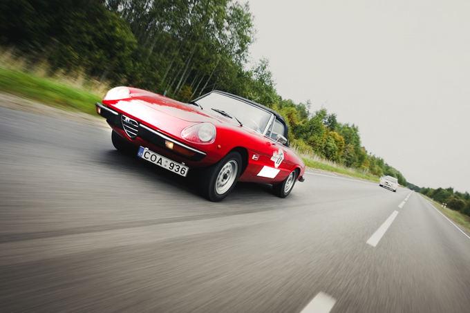 Organizatorių nuotr./Alfa Romeo Spider