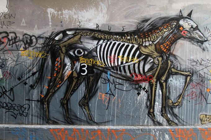 Karolio ir Evelinos nuotr./ Sakoma žmonės atvažiuoja į Melburną ia viso pasaulio vien dėl grafiti meno