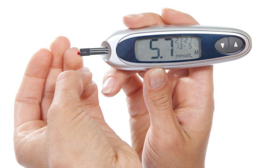 padidėjęs gliukozės kiekis kraujyje su hipertenzija